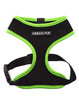 Active Mesh Neon Green Harness - Get fit, stay safe, stay seen. Treat your training buddy to an attractive new Active Mesh Harness with a dash of sporty neon to compliment your keep fit gear. But also great for regular walkies. High visibility Active Mesh Neon Harnesses provide the ultimate in comfort and safety, featuring a breath...