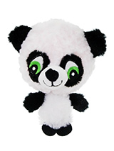 Baby Panda Plush & Squeaky Dog Toy - The head of Baby Panda is actually a rubber ball with a bumpy surface covered in fabric and is a great interactive toy for playing 'fetch'. He is quite robust and will stand up to a lot of chewing and biting. The rest of him is cuddly and colourful with an added squeak to entertain your pet! This to...